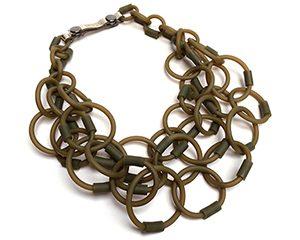 plug necklace <strong>collar plug</strong>