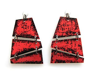trapecio earrings <strong>aros trapecio</strong>