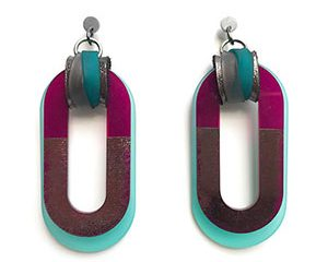 link earrings <strong>aros link</strong>