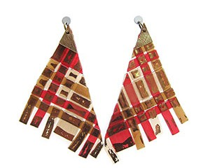 poncho earrings <strong>aros poncho</strong>