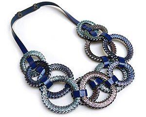 circulo short necklace <strong>collar corto circulo</strong>