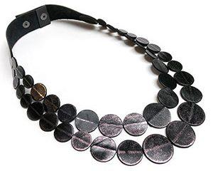 punto short necklace <strong>collar corto punto</strong>