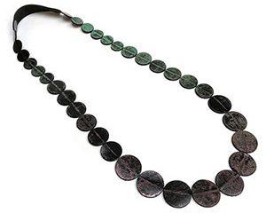 punto long necklace <strong>collar largo punto</strong>