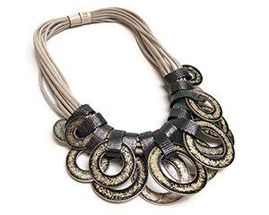 saturno short necklace <strong>collar corto saturno</strong>