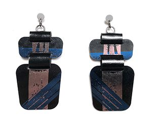 print earrings <strong>aros print</strong>