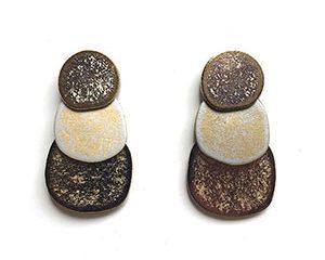 saurio small earrings <strong>aros chicos saurio</strong>